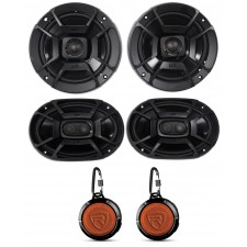 "2 Polk Audio DB652 6.5""+DB692 6X9"" Car Audio Marine/ATV/Motorcycle/Boat Speakers"
