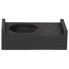"ROCKVILLE RQT12 12"" Bedliner Sprayed Shallow Sealed Car/Truck Sub Box Enclosure"