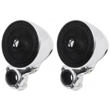 Pair Kicker 40PSM32 PSM3 Waterproof Motorcycle/ATV Handlebar Speakers - 2-Ohm