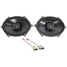 "1998-2001 Ford Explorer Polk 5x7"" Front Factory Speaker Replacement Kit"