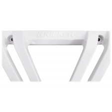 """(2) Kicker 11L710GLW 10"""" White Grilles w/ LEDs For SoloBaric 11S10L7 Subwoofers"""