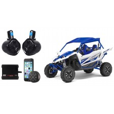 """Yamaha YXZ  6.5"""" Tower Speakers+2-Channel MTX Amplifier Amp+Bluetooth Controller"""