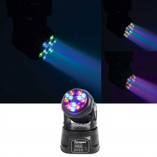 FARENHEIT FH318MH Compact RGB DMX LED Moving Head Beam Club Stage Party Light
