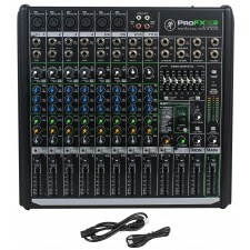 New Mackie PROFX12v2 Pro 12 Channel Compact Mixer w Effects and USB PROFX12 V2