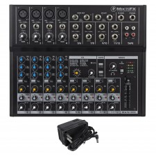 Mackie Mix12FX 12-Channel Compact Mixer W/FX Proven Performance Built Rugged