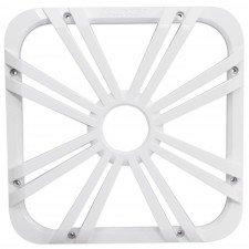 """Kicker 11L712GLW 12"""" White Grille w/LED For Solo Baric 11S12L7 Subwoofer Sub"""