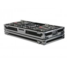 "Odyssey FZBM12W Flight Zone Turntable Battle Coffin Case w/Wheels - 12"" DJ Mixer"