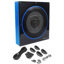"Rockville RW10CA 10"" 800 Watt Slim Low Profile Active Powered Car Subwoofer Sub"
