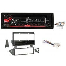 2004-05 Lincoln Aviator 1Din JVC CD Player Receiver Stereo w/ MP3/WMA/Aux