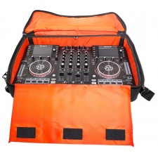 Gemini CDM-4000 2 Ch. Dual DJ Mixer Media Player System+MP3/CD/USB+Carry Bag