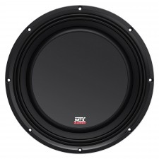 "MTX 3510-04S 10"" 600 Watt Shallow Mount Car Audio Subwoofer Slim Sub SVC 4-ohm"