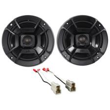 "1993-2007 Subaru Impreza Polk Audio Rear Door 6.5"" Speaker Replacement Kit"
