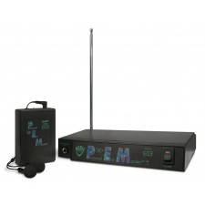 Nady EO3 BB 300 Foot Wireless In Ear Stage Monitor System With Ear Buds