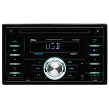 Boss 824UAB Double-DIN Car CD/MP3 Player Receiver w/Bluetooth/USB/SD/Radio/Aux
