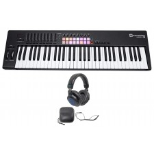 Novation LAUNCHKEY 61 MK2 MK11 61-Key USB/MIDI Controller Keyboard + Headphones