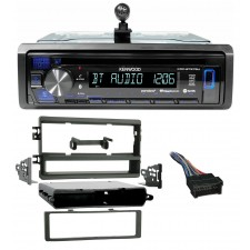 Kenwood CD Receiver w/Bluetooth iPhone/Android For 2003-2004 KIA Spectra