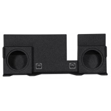 "Dual 10"" Vented Subwoofer Sub Box Enclosure For 04-08 Ford F150 SuperCrew/Xcab"