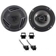 Rockville Front Factory Speaker REPLACE Kit For 2000-2007 Chevrolet Monte Carlo