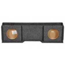 "1999-2006 GMC/Chevrolet/Chevy Xcab Dual 10"" Downfire Subwoofer Sub Box Enclosure"