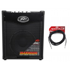 """Peavey Max 110 Electric Bass Guitar Amplifier Combo Amp+10"""" Speaker+Cable+Picks"""