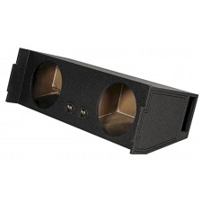 "Rockville REC97 Dual 12"" Ported SUV Subwoofer Sub Box Enclosure - Behind 3rd Row"