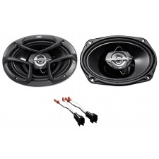 JVC Factory Car Rear Speaker Replacement Kit For 2003-2011 Lincoln Town