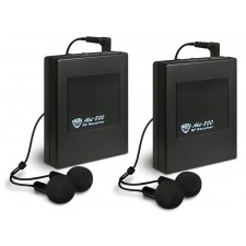 2 Nady ALD800 RX BB Add-On Receivers And Ear Buds For Ald800