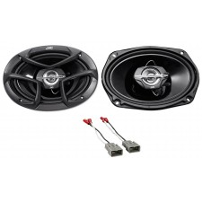 """6x9"""" JVC Factory Deck Or Panel Speaker Replacement For 1996-98 Honda Civic"""