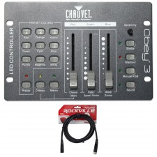 Chauvet DJ Obey 3 Universal Dmx 512 Controller With 3 Channels + DMX Cable