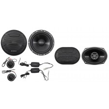 """Hifonics ZS65C 6.5"""" 400w Component Car Speakers+(2) 6x9"""" 800w Coaxial Speakers"""