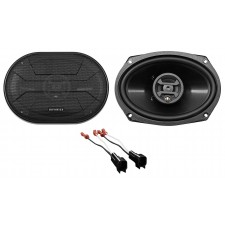 2003-2011 Lincoln Town Car Rear Hifonics Factory Speaker Replacement Kit