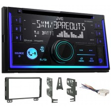 2004-05 Lincoln Aviator JVC Stereo CD Receiver w/Bluetooth/USB/iPhone/Sirius