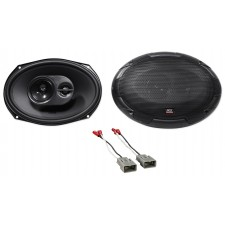 "6x9"" MTX Rear Factory Speaker Replacement Kit For 2003-2007 Honda Accord"