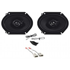 """Rear Kenwood 6x8"""" Factory Speaker Replacement Kit For 1993-97 Mazda MX6"""