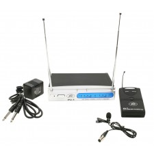 Peavey PV-1 V1 BL 214.500MHZ VHF Series Wireless Lavalier Microphone