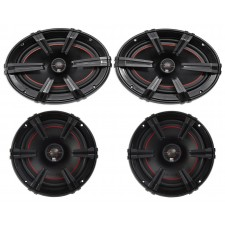 "(2) MB Quart XK1-169 X-Line 6x9"" 200w Car Audio Speakers+(2) 6.5"" 2-Way Speakers"