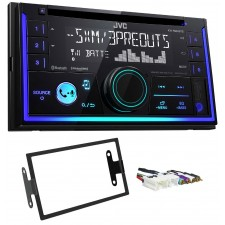 JVC Stereo CD Receiver w/Bluetooth/USB/iPhone/Sirius For 1997-2000 INFINITI QX4