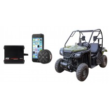 Honda Pioneer 200w RMS 2-Channel Weather Proof Amplifier+Bluetooth Controller