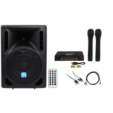 """Rockville Powered 8"""" Android/ipad/iphone/Laptop/T.V. Karaoke Machine/System"""