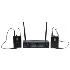 Vocopro Digital-2G 90 Channel UHF Dual Wireless Guitar Amp System/Rechargable