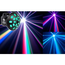 American DJ VERTIGO HEX LED 12 Watt 6-Color RGBCAW RGB+Cyan Amber White FX Light
