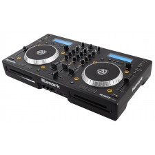 Numark Mixdeck Express Premium DJ Mixer/Controller w/ Dual CD+Black Travel Case