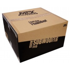 """(2) MTX 7515-44 15"""" 1500w Competition Subwoofers Subs+Sealed Sub Box Enclosure"""