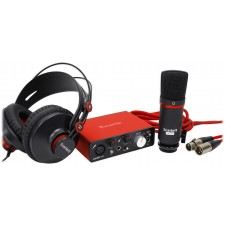 Focusrite SCARLETT SOLO STUDIO MK2 192KHz USB 2.0 Audio Interface+Mic+Headphones