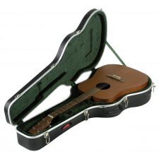 SKB 1SKB-8 Acoustic Dreadnought Guitar Case + Accessory Compartment 1SKB8