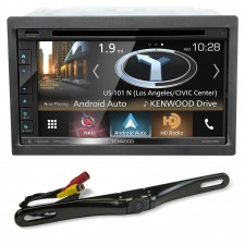 "Kenwood DNX575S 6.8"" DVD Bluetooth Navigation Receiver iPhone/Android+Backup Cam"