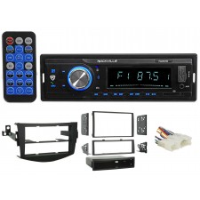 2006-2012 Toyota Rav4 1-Din Digital Media Bluetooth AM/FM/MP3 USB/SD Receiver