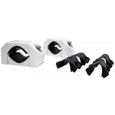 Rockford Fosgate PM-CL1 White Wakeboard Tower Speaker Clamps Fits 1.5
