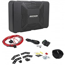 "Kicker 8"" Inch 150W Powered Subwoofer Compact Sub+Wires For 87-06 Jeep Wrangler"