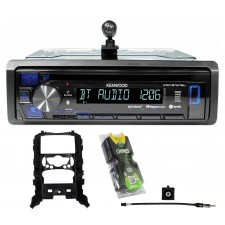 Kenwood 1-Din CD Receiver w/Bluetooth iPhone/Android/ For 07-10 Mini Cooper